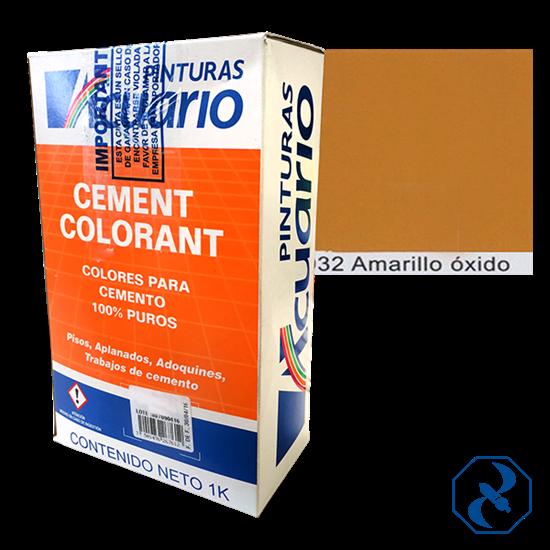 Impacto ferretero color amarillo oxido para cemento for Pigmento para cemento
