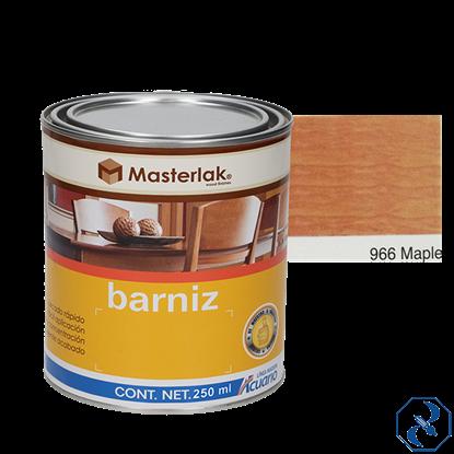 Imagen de BARNIZ 1/4 L MAPLE MASTERLAK ACUARIO MM96602
