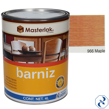 Imagen de BARNIZ 4 L MAPLE MASTERLAK ACUARIO MM96640