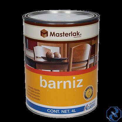 Imagen de BARNIZ 4 L TRANSPARENTE MASTERLAK ACUARIO MM95040