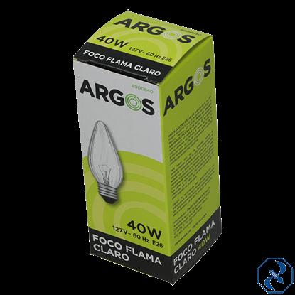 Imagen de FOCO 40 W CLARO FLAMA ARGOS 8900840