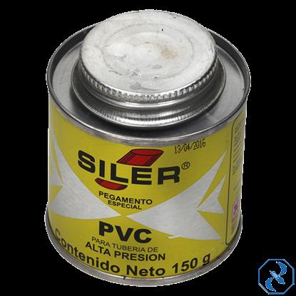 Imagen de PEGAMENTO 150 GR AMARILLO PARA PVC EN BOTE SILER PVC150