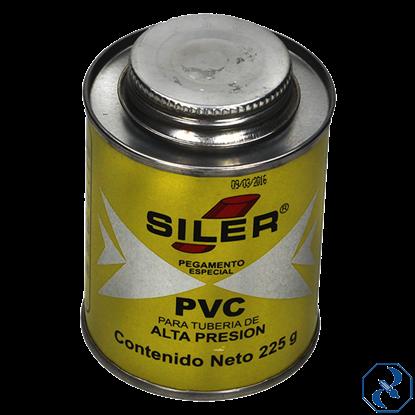 Imagen de PEGAMENTO 225 GR AMARILLO PARA PVC EN BOTE SILER PVC225