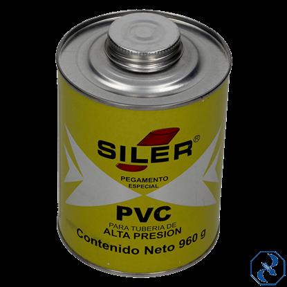 Imagen de PEGAMENTO 960 GR AMARILLO PARA PVC EN BOTE SILER PVC960