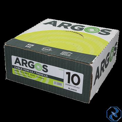 Imagen de CABLE 10 100 MT BLANCO ARGOS 1100104