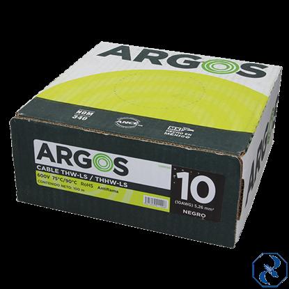 Imagen de CABLE 10 100 MT NEGRO ARGOS 1100100