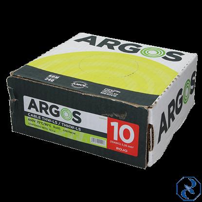 Imagen de CABLE 10 100 MT ROJO ARGOS 1100101