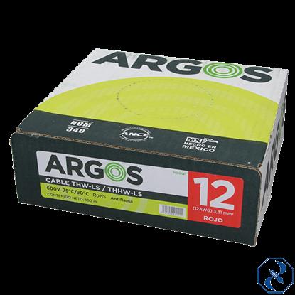 Imagen de CABLE 12 100 M ROJO ARGOS 1100121