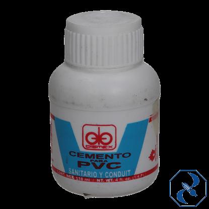 Imagen de CEMENTO 125 ML PARA PVC DISMEX