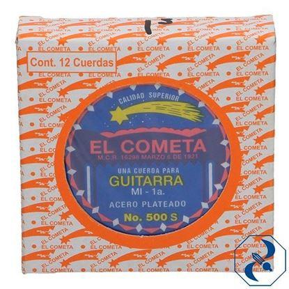 Imagen de CUERDA 1A C/12 PZAS P/GUITARRA ACERO COMETA 2000105
