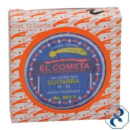 Imagen de CUERDA 2A C/12 PZAS P/GUITARRA ACERO COMETA 2000113