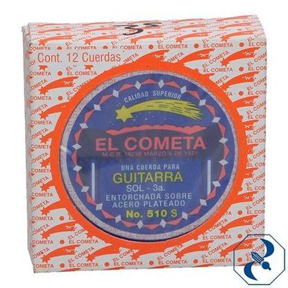 Imagen de CUERDA 3A C/12 PZAS P/GUITARRA ACERO COMETA 2000121