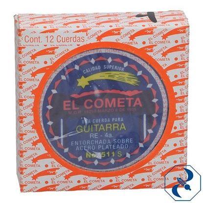 Imagen de CUERDA 4A C/12 PZAS P/GUITARRA ACERO COMETA 2000131