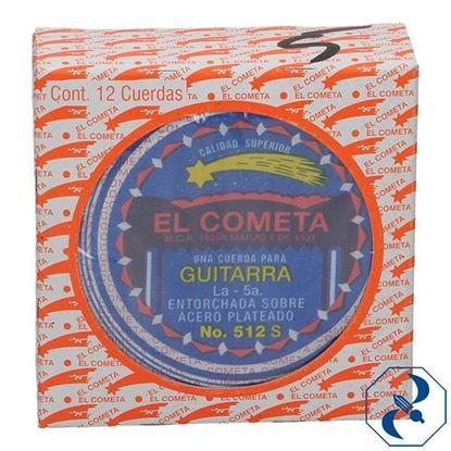 Imagen de CUERDA 5A C/12 PZAS P/GUITARRA ACERO COMETA 2000148