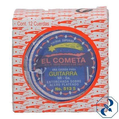 Imagen de CUERDA 6A C/12 PZAS P/GUITARRA ACERO COMETA 2000156