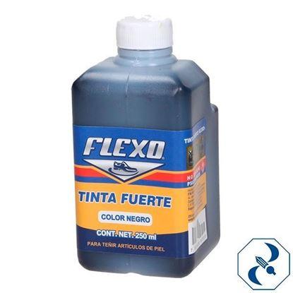Imagen de TINTA 250 ML NEGRA FLEXO ARTICULOS DE PIEL TFN-250