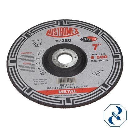Imagen de DISCO 7 PULG CORTE DE METAL ALTO RENDIMIENTO AUSTROMEX 380-596