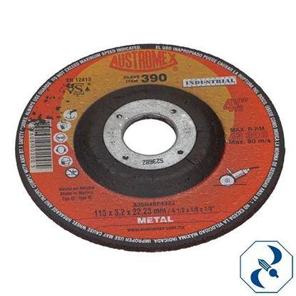 Imagen de DISCO 45 PULG CORTE DE METAL INDUSTRIAL AUSTROMEX 390-524
