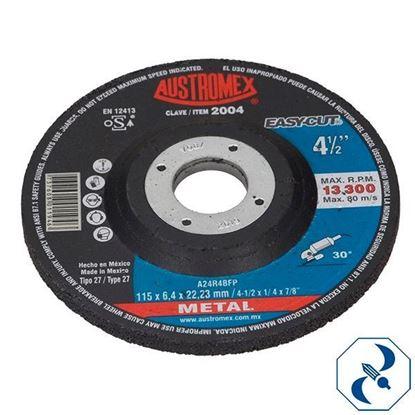 Imagen de DISCO 45 PULG DESBASTE DE METAL EASY CUT AUSTROMEX 2004