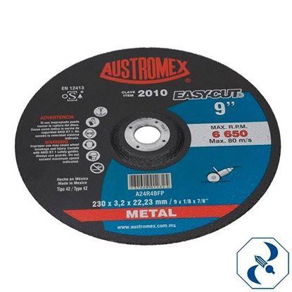 Imagen de DISCO 9 PULG CORTE DE METAL EASY CUT AUSTROMEX 2010