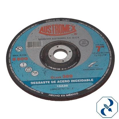 Imagen de D DISCO DE CUBO 7X1/4X7/8 FUSIONINOX AUSTROMEX 389
