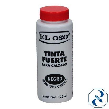 Imagen de TINTA 125 ML NEGRA EL OSO 8053A