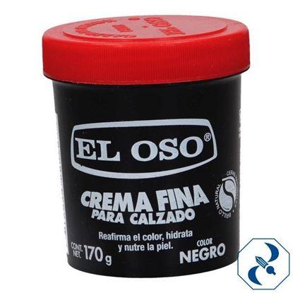 Imagen de CREMA 170 GR NEGRA EL OSO 8070A