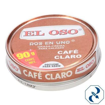Imagen de GRASA CREMA DOS EN UNO CAFE  90 GR EL OSO 8015A
