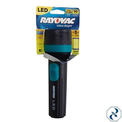 Imagen de LINTERNA ROV 1D LED RAYOVAC VB1DLEC-B LA