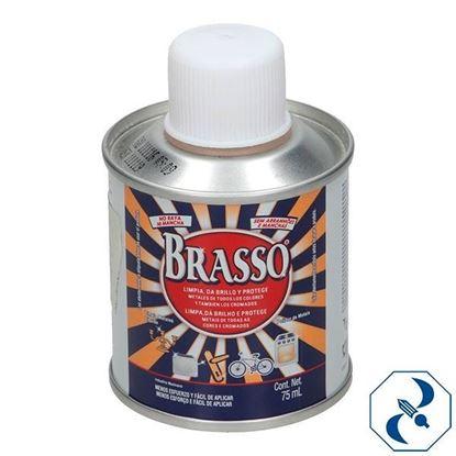 Imagen de BRASSO LIMPIA METAL LIQ 75 ML   RECKITT  052380