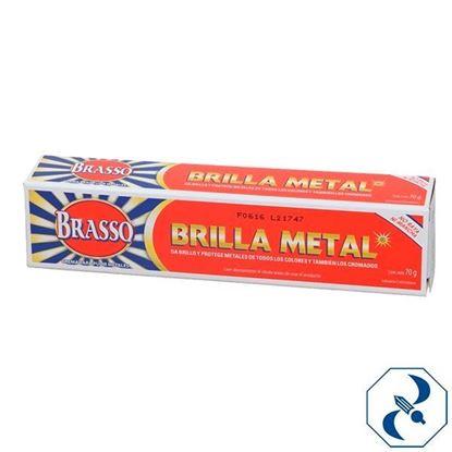 Imagen de BRASSO LIMPIA METAL PASTA 70G   RECKITT   0250306