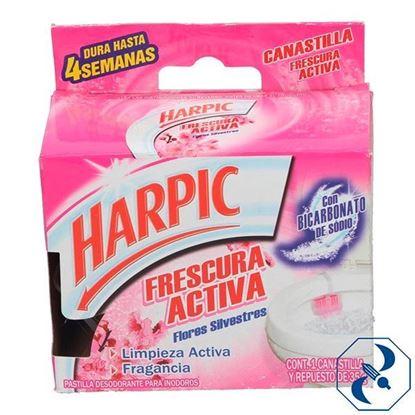 Imagen de HARPIC CANASTILLA FRESCURA ACTIVA FLORAL 35GR   RECKITT   3034558