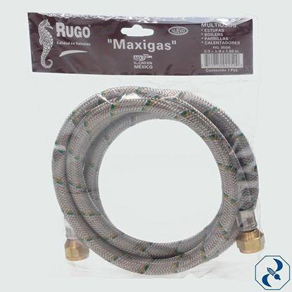Imagen de MANGUERA 3/8X1.5 M GAS MAXIGAS RUGO 25GN 1.5