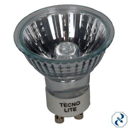 Imagen de FOCO 50 W REFLECTOR MR-16 C/CUBIERTA CLARO MR16-130-50W/C
