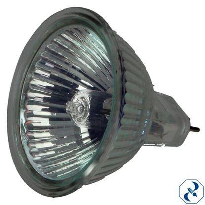 Imagen de FOCO 50 W REFLECTOR MR16 C/CUBIERTA CLARO 12V EXN/C