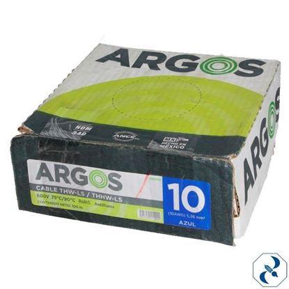Imagen de D CABLE 10 100 MT AZUL ARGOS 1100102