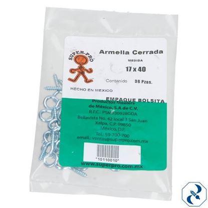 Imagen de ARMELLA 17X40 C/144 PZAS CERRADA SUPER PRO 10110010
