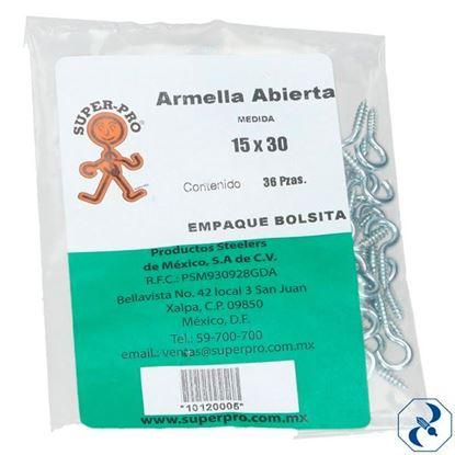 Imagen de ARMELLA 15X30 C/144 PZAS ABIERTA SUPER PRO 10120005