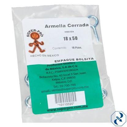 Imagen de ARMELLA 18X50 C/144 PZAS CERRADA SUPER PRO 10110020