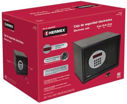 Imagen de CAJA DE SEGURIDAD ELECTRONICA DE 20 LTS HERMEX CASE-20