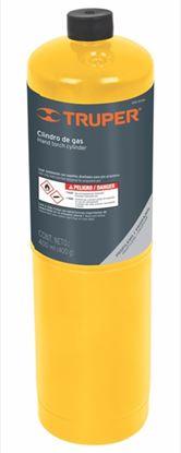 Imagen de TANQUE DE GAS PROPANO DE 400 G, NEGRO TRUPER GAS-400N
