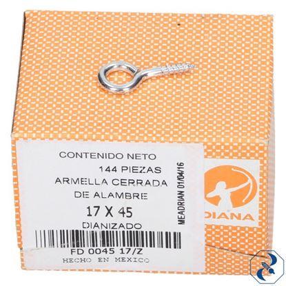 Imagen de ARMELLA 17X45 C/144 PZAS CERRADA DIANA FD004517