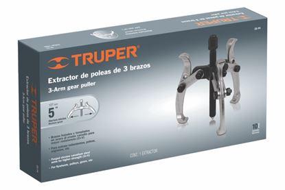 Imagen de EXTRACTOR DE POLEAS INTERIORES Y EXTERIORES 3 BRAZOS 4 PULG TRUPER EX-P4