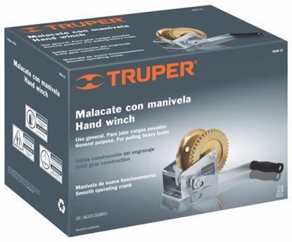 Imagen de MALACATE SIN CABLE DE 910 KG TRUPER MAW-91