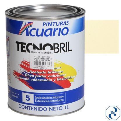 Imagen de ESMALTE DE 1 L MARFIL TECNOBRILL ACUARIO EV21710