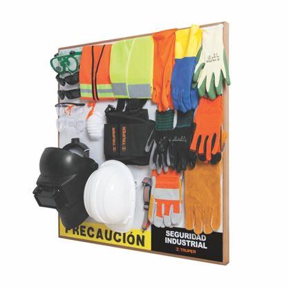 Imagen de EXHIBIDOR SEGURIDAD INDUSTRIAL 1 SECCIÓN, #2, 80 X 80, EX80-IND1-2