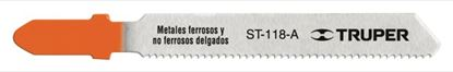 Imagen de SEGUETA CALADORA CORTES RECTOS EN METAL ZANCO T 21 DPP TRUPER ST-118-A