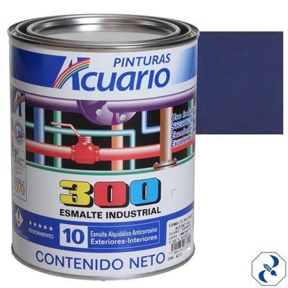 Imagen de ESMALTE 4 L AZUL INTENSO INDUSTRIAL 300 ACUARIO EA35040