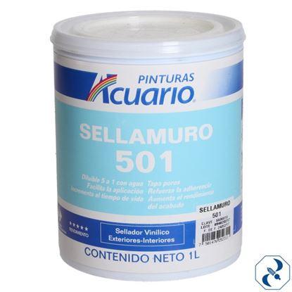 Imagen de SELLADOR 1 L PARA MURO 501 ACUARIO SA90610