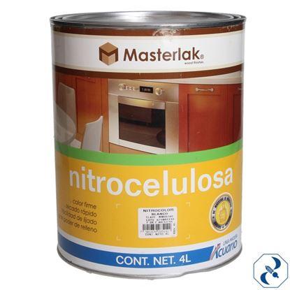 Imagen de NITROCELULOSA NITROCOLOR 4 L BLANCO ACUARIO MM85140